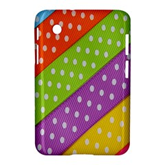 Colorful Easter Ribbon Background Samsung Galaxy Tab 2 (7 ) P3100 Hardshell Case