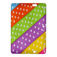 Colorful Easter Ribbon Background Kindle Fire HDX 8.9  Hardshell Case