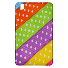 Colorful Easter Ribbon Background Samsung Galaxy Tab Pro 8.4 Hardshell Case