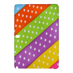 Colorful Easter Ribbon Background Samsung Galaxy Tab Pro 12.2 Hardshell Case
