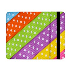 Colorful Easter Ribbon Background Samsung Galaxy Tab Pro 8.4  Flip Case