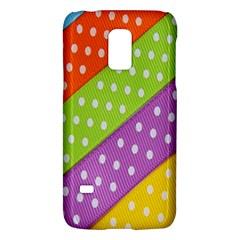 Colorful Easter Ribbon Background Galaxy S5 Mini