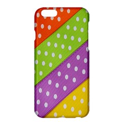 Colorful Easter Ribbon Background Apple Iphone 6 Plus/6s Plus Hardshell Case