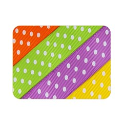 Colorful Easter Ribbon Background Double Sided Flano Blanket (Mini)