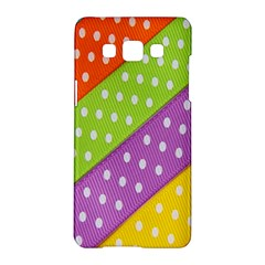 Colorful Easter Ribbon Background Samsung Galaxy A5 Hardshell Case