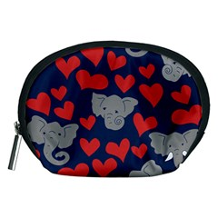 Elephants Love Accessory Pouches (Medium)