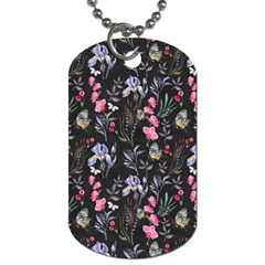Wildflowers I Dog Tag (two Sides)