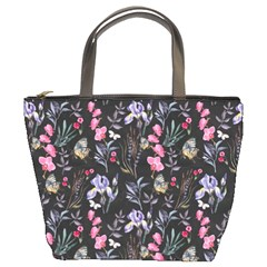Wildflowers I Bucket Bags