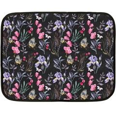 Wildflowers I Fleece Blanket (mini)