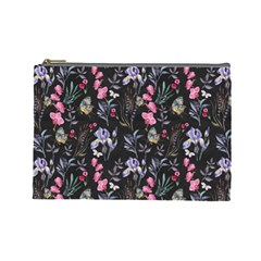 Wildflowers I Cosmetic Bag (large)
