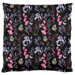 Wildflowers I Large Cushion Case (one Side)