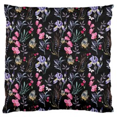 Wildflowers I Large Cushion Case (two Sides)