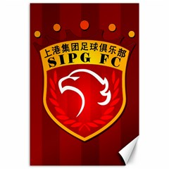 Shanghai Sipg F C  Canvas 24  X 36