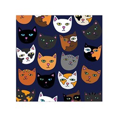 Cat  Small Satin Scarf (Square)