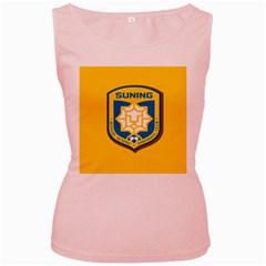 Jiangsu Suning F.C. Women s Pink Tank Top