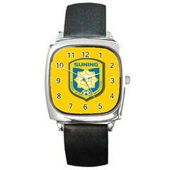Jiangsu Suning F.C. Square Metal Watch
