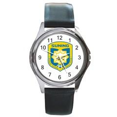 Jiangsu Suning F.C. Round Metal Watch