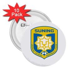 Jiangsu Suning F.C. 2.25  Buttons (10 pack)
