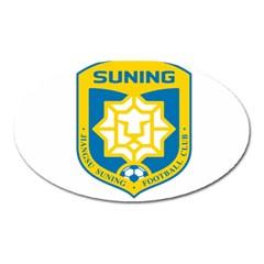 Jiangsu Suning F.C. Oval Magnet