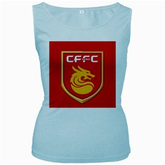 Hebei China Fortune F.C. Women s Baby Blue Tank Top