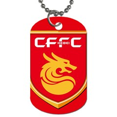 Hebei China Fortune F.C. Dog Tag (Two Sides)