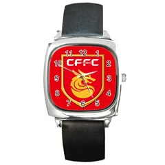 Hebei China Fortune F.C. Square Metal Watch