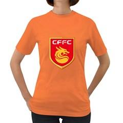 Hebei China Fortune F.C. Women s Dark T-Shirt