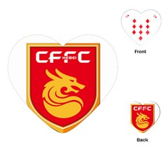 Hebei China Fortune F.C. Playing Cards (Heart)