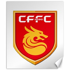 Hebei China Fortune F.C. Canvas 8  x 10