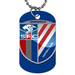 Shanghai Greenland Shenhua F.C. Dog Tag (Two Sides)
