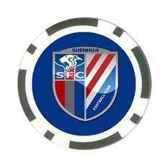 Shanghai Greenland Shenhua F.C. Poker Chip Card Guard