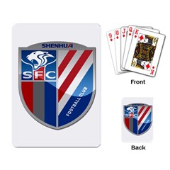 Shanghai Greenland Shenhua F.C. Playing Card
