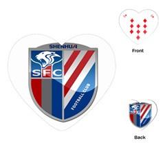 Shanghai Greenland Shenhua F.C. Playing Cards (Heart)