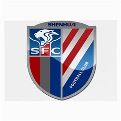 Shanghai Greenland Shenhua F.C. Large Glasses Cloth (2-Side)