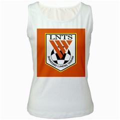 Shandong Luneng Taishan F.C. Women s White Tank Top