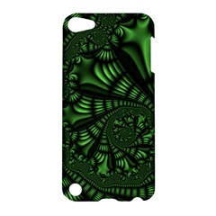 Fractal Drawing Green Spirals Apple iPod Touch 5 Hardshell Case
