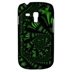 Fractal Drawing Green Spirals Galaxy S3 Mini