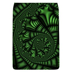 Fractal Drawing Green Spirals Flap Covers (S)