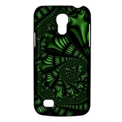 Fractal Drawing Green Spirals Galaxy S4 Mini