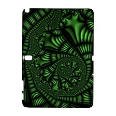 Fractal Drawing Green Spirals Galaxy Note 1