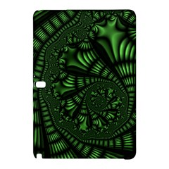 Fractal Drawing Green Spirals Samsung Galaxy Tab Pro 12.2 Hardshell Case