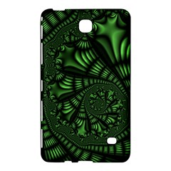 Fractal Drawing Green Spirals Samsung Galaxy Tab 4 (8 ) Hardshell Case