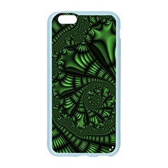 Fractal Drawing Green Spirals Apple Seamless iPhone 6/6S Case (Color)