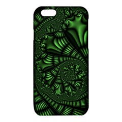 Fractal Drawing Green Spirals iPhone 6/6S TPU Case