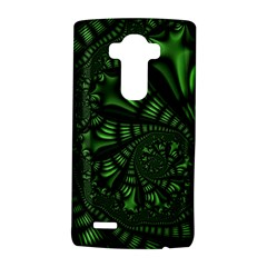 Fractal Drawing Green Spirals LG G4 Hardshell Case