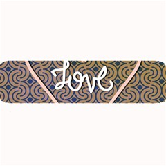 I Love You Love Background Large Bar Mats