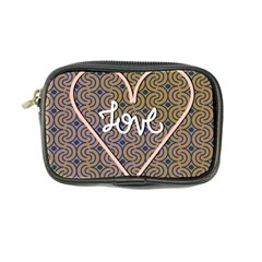 I Love You Love Background Coin Purse