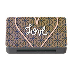 I Love You Love Background Memory Card Reader With Cf