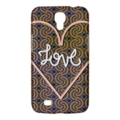I Love You Love Background Samsung Galaxy Mega 6 3  I9200 Hardshell Case