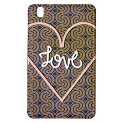 I Love You Love Background Samsung Galaxy Tab Pro 8 4 Hardshell Case